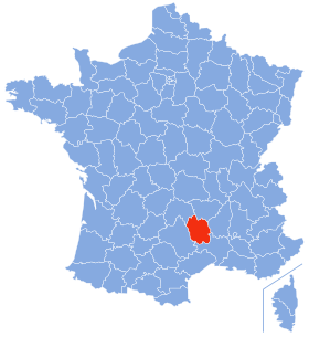 Lozère-Position wikipedia